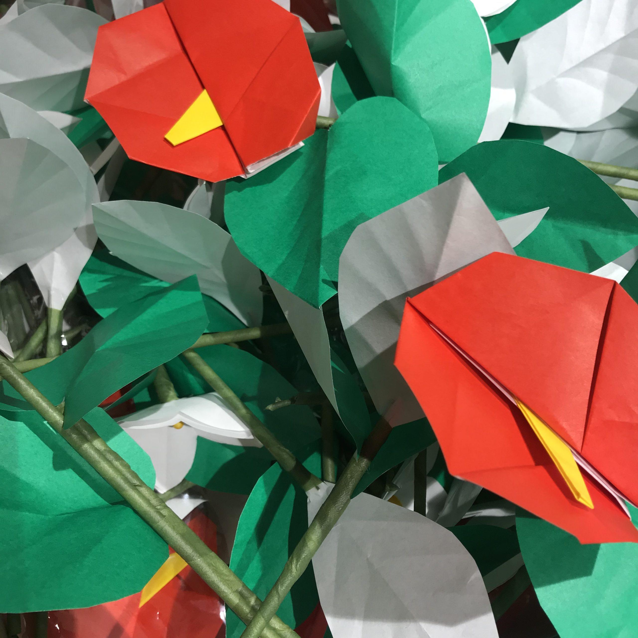 心温まる贈り物「折り紙ボランティアさん」